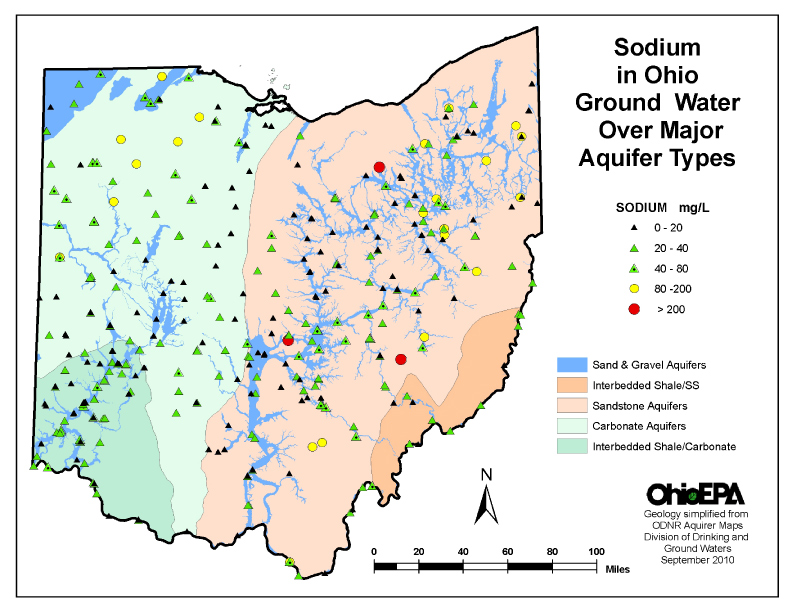 Source Http Www Epa State Oh Us Ddagw Gwqcp Aspx Water Quality Of The Ohio