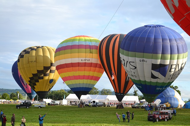 Hot air balloons Bristol