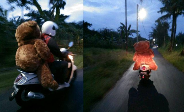 Bawa Boneka Untuk Mantan Sejauh 120 kilometer - FacebookMade Sumabawa