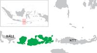 peta Nusa Tenggara Barat (NTB)