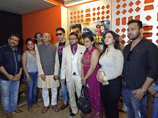 आनंद ओझा की फिल्म ''लव एक्सप्रेस'' का मुहूर्त मुम्बई में !