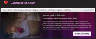 JODOHSAKINAH.com Situs Jodoh Terbaik di Tanah Air