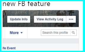 Search open facebook profiles