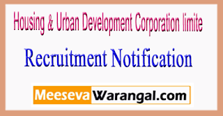 HUDCO Housing & Urban Development Corporation limited Recruitment Notification 2017