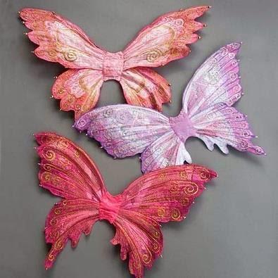 jedwabne motyle