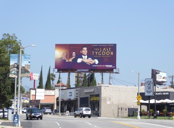Last Tycoon TV billboard