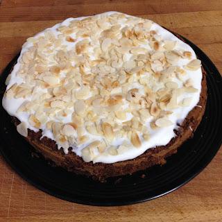 tarta De Zanahoria Con Glasa De Queso Crema