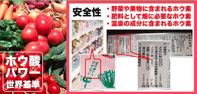 ホウ酸パワー 日本ボレイト