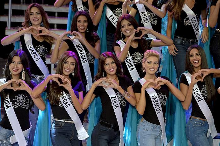 ملكة جمال فنزويلا تمثل بلادها فى مسابقة ملكة جمال الكون  2017