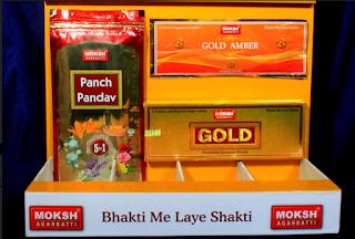 Moksh Agarbatti launches 3 new brands – Moksh Gold, Panch Pandav and Gold Amber