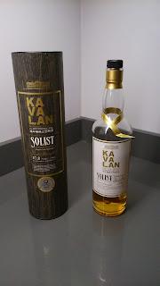 whisky Kavalan SOlist ex Bourbon Cask