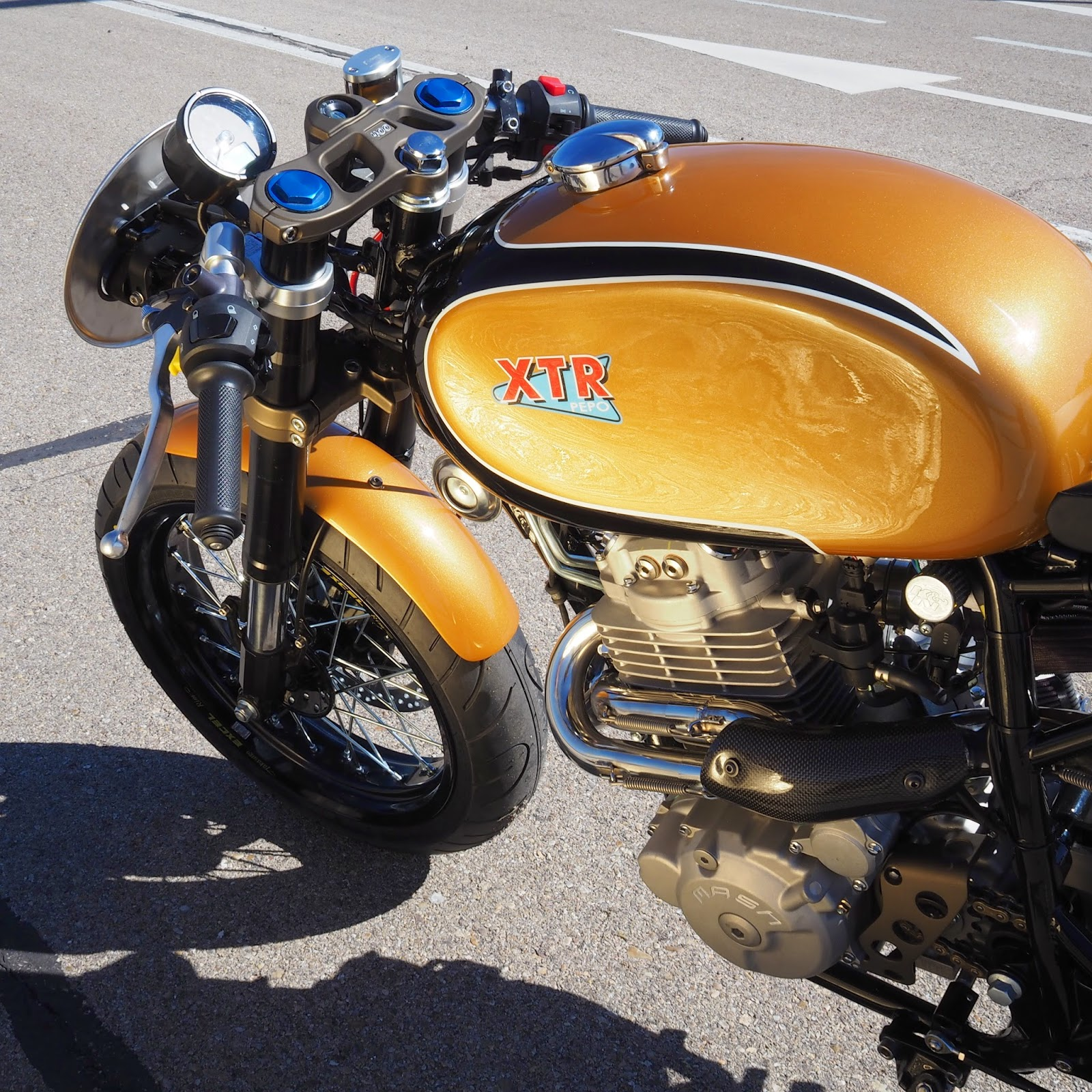 Mash Five Hundred Cafe Racer