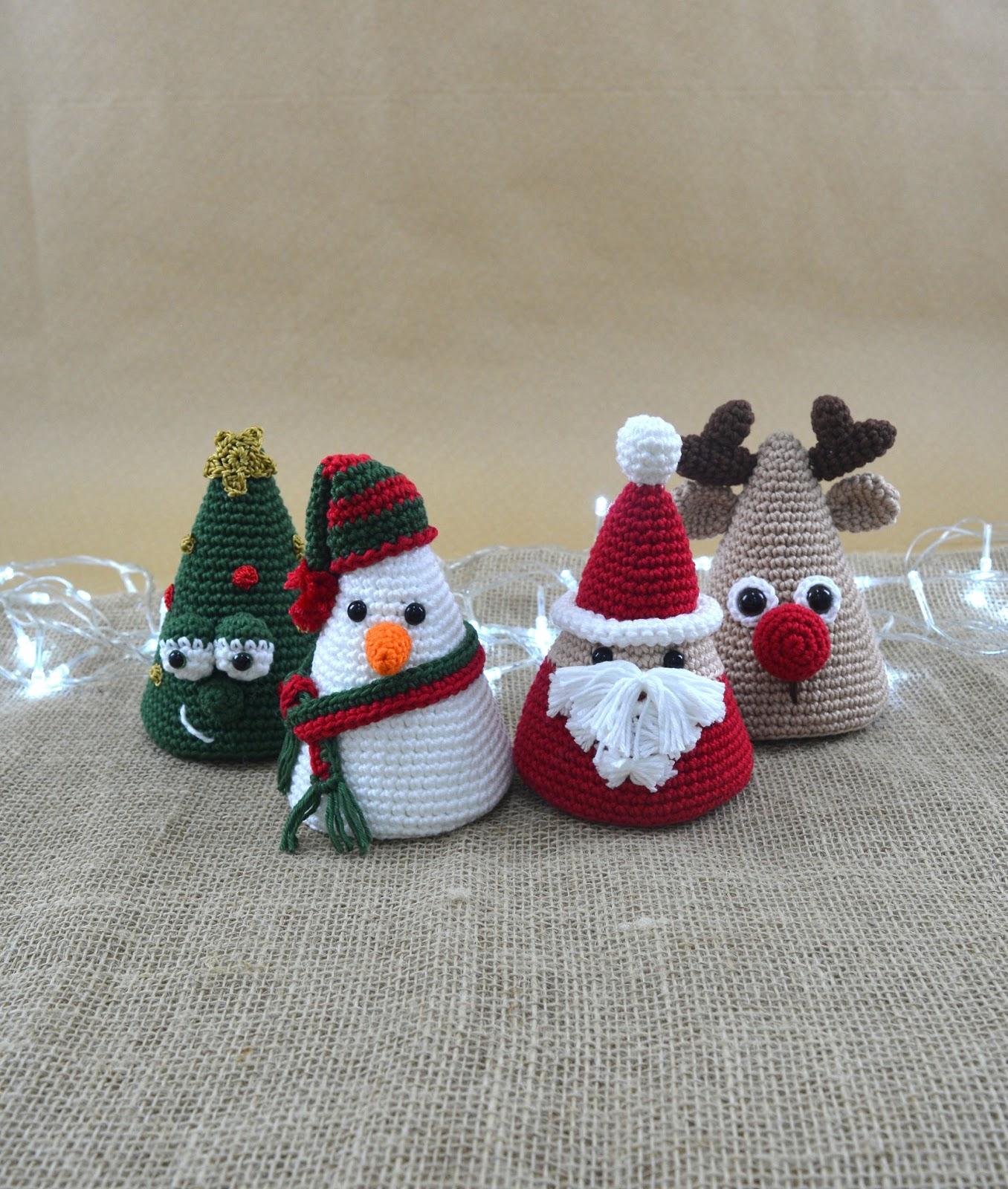 5 receitas grátis de amigurumi de Natal - Receitas de crochê ...   1600x1356