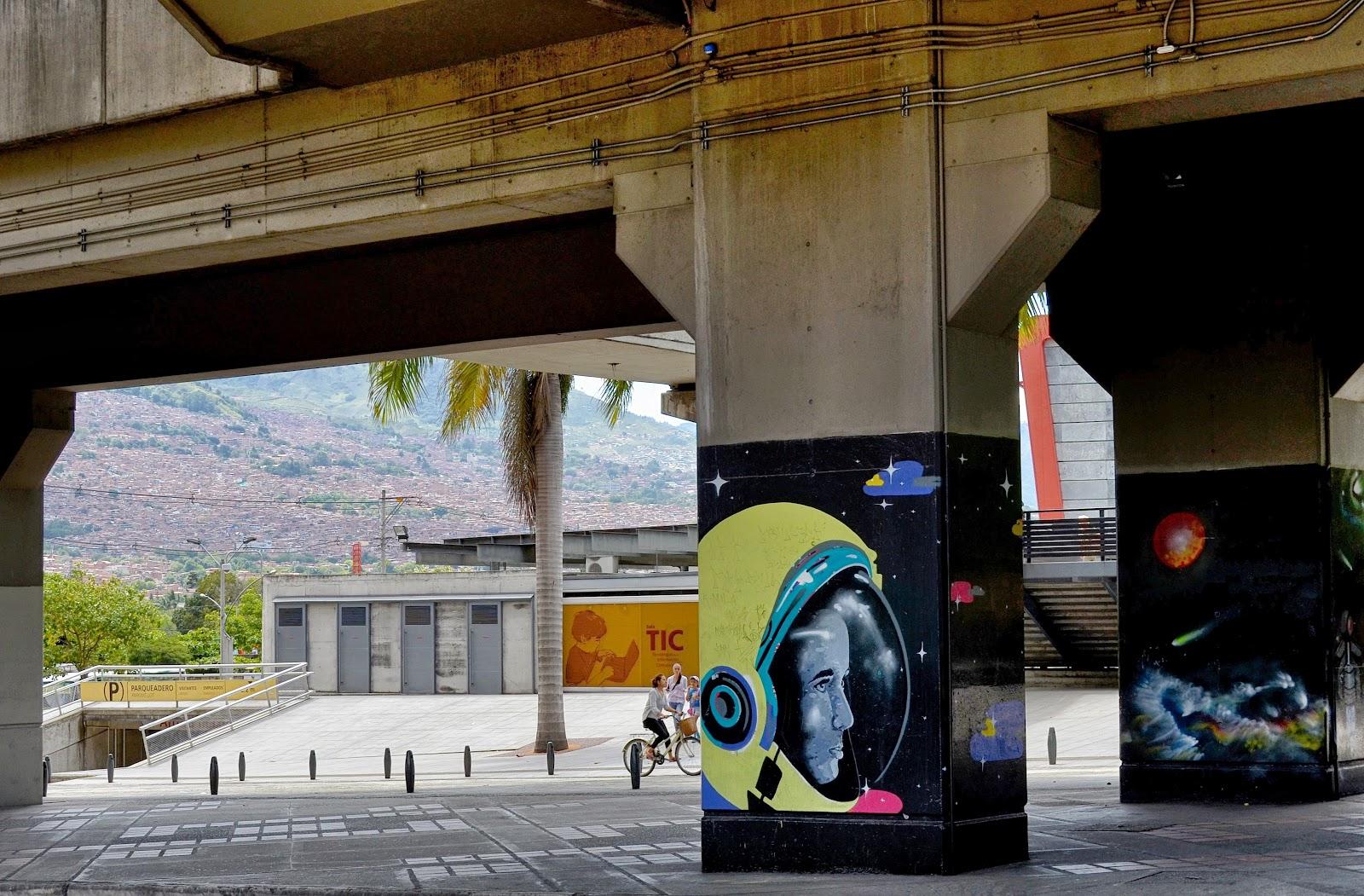 Resultado de imagen para arte urbano medellín