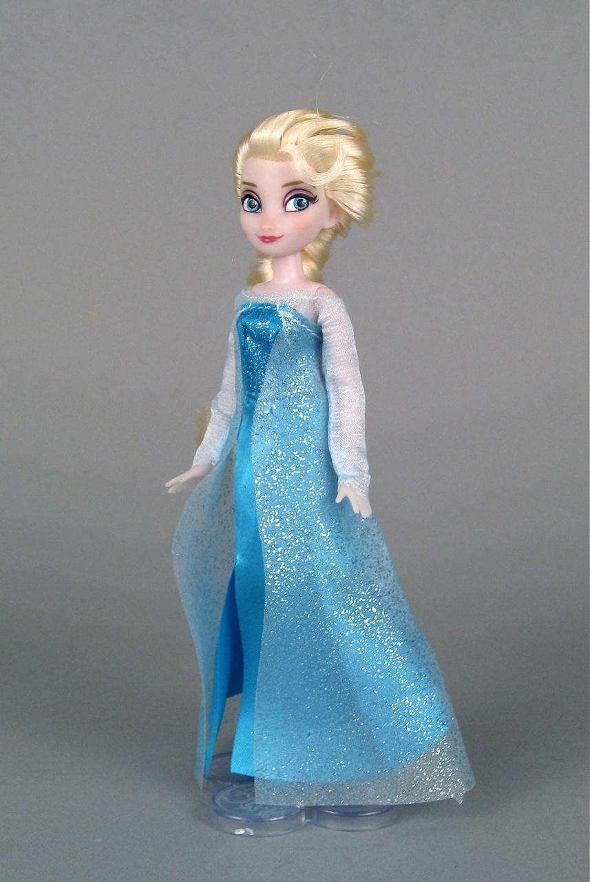 The Elsa Mini Doll Wardrobe Set From The Disney Store