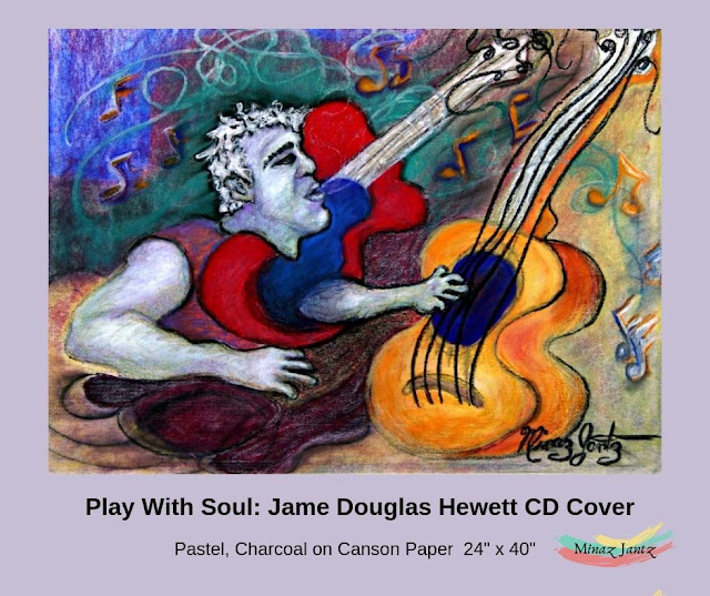 Play with Soul James Douglas Hewett CD Cover by Minaz Jantz