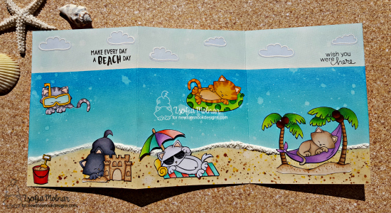 Make everyday a beach day by Zsofia features Newton's Summer Vacation and Aloha Newton by Newton's Nook Designs, #newtonsnook
