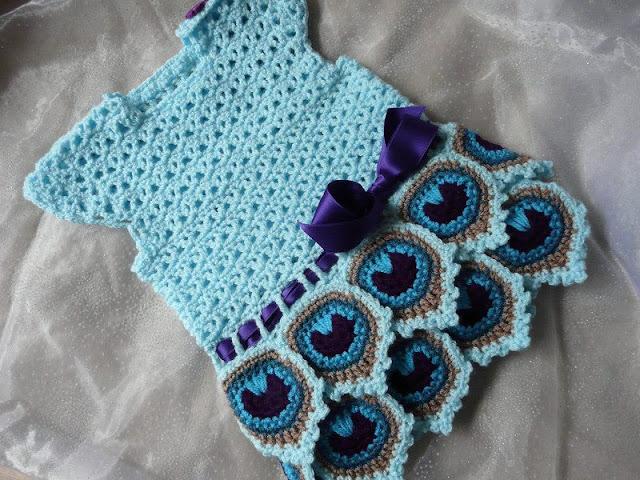 wzory sukieneczek dziewczęcych