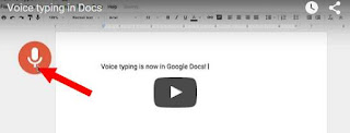 Voice Typing Google Docs support Bahasa Indonesia