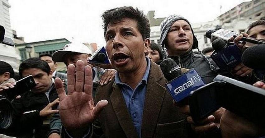 Pedro Castillo anuncia que paralizarán clases el Jueves 5 de Abril
