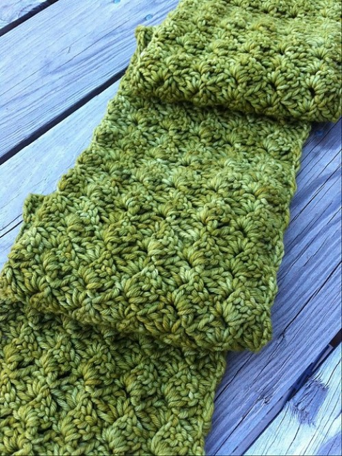 Beautiful Scarf - Free Pattern