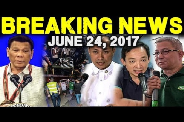 BREAKING NEWS TODAY JUNE 24 2018 P DUTERTE l TAMBAY SA KALYE l GARY ALEJANO l MAKABAYAN BLOC l PDEA!