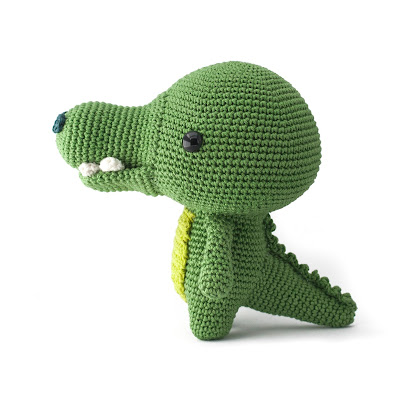 Crocodile amigurumi pattern