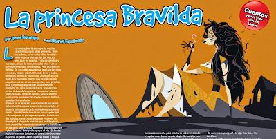 La princesa Bravilda, publicado en Billiken