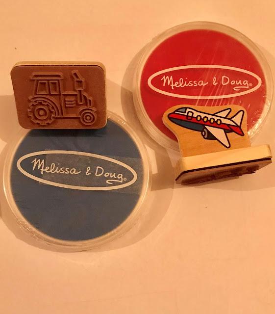 melissa and doug stamp set