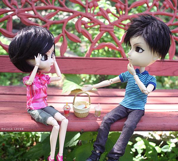 Pullip Doll Couple, Pullip Rida, Taeyang Sebastian