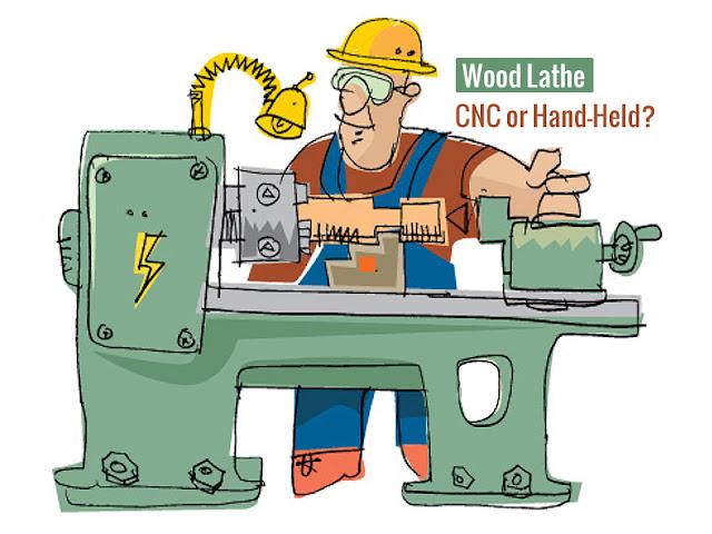 So sánh máy tiện gỗ CNC và máy tiện gỗ truyền thống