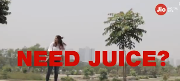 #JioJuice no need of a charger. Too good to believe. Not sure #AprilFoolsDay