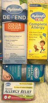 hylands allergy pack