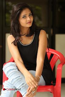 Actress Shreya Vyas Latest Pictures in Ripped Jeans Kevvu Kabaddi Tournament Press Meet  0161.JPG