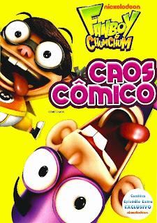 Fanboy & Chum Chum Caos Cômico DVDRip AVI Dublado