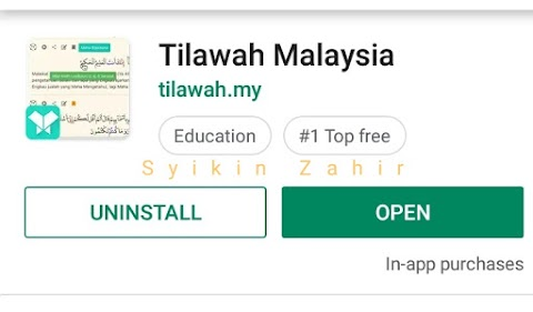 Apps Al Quran PERCUMA yang wajib ada dalam phone kita