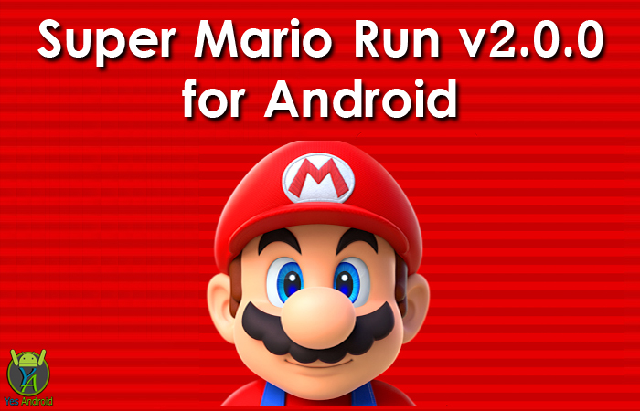Super Mario Run 2.0.0 APK Download