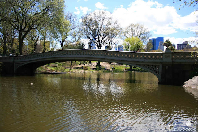 My Travel Background : le Bow Bridge dans Central Park, New York