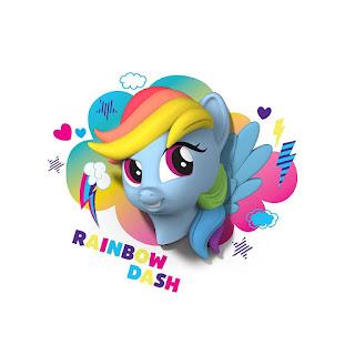 my Little Pony 3D Wall Deco Light Rainbow Dash