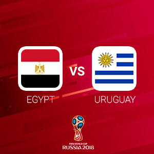Egypt vs Uruguay Odds
