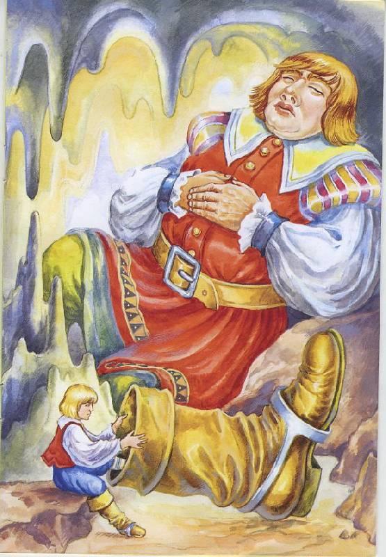 Днем святого, картинки мальчик с пальчик шарль перро