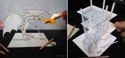 00-Alessandro-Diddi-Anamorphic-Optical-Illusions-that-look-like-3D-Drawings-www-designstack-co