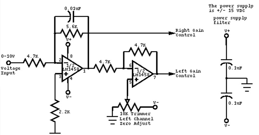 Circuit Wiring Solution: Mono to Stereo Audio Signal