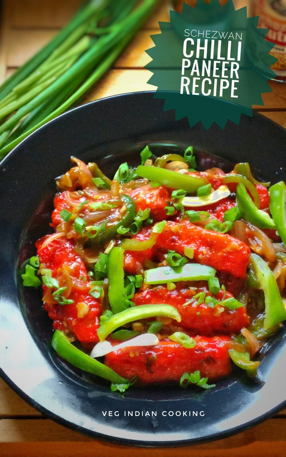 Veg indian cooking restaurant style schezwan chilli paneer how to make schezwan chilli paneer restaurant style indian chinese crispy paneer schezwan recipe indo chinese chings paneer schezwan paneer chilly dry forumfinder Images