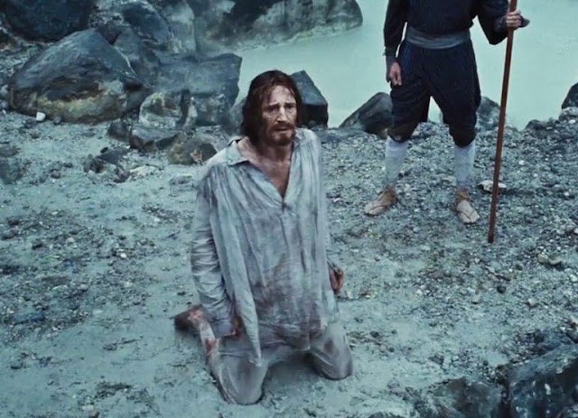 Silence movie still, Liam Neeson, Martin Scorsese, opening scene