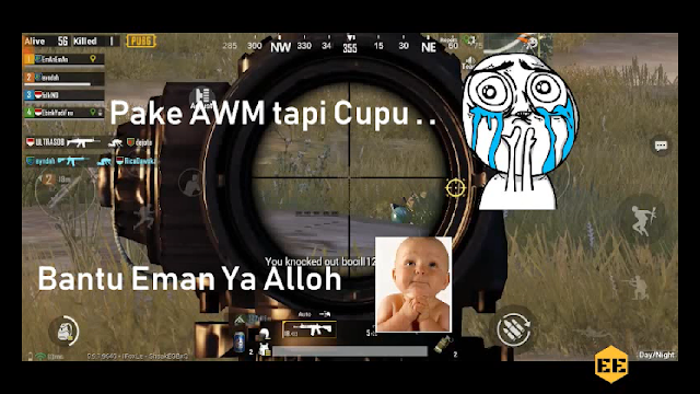 PUBG Mobile EP. 1 Pakai AWM di pubg mobile Noob Tapi Runner Up