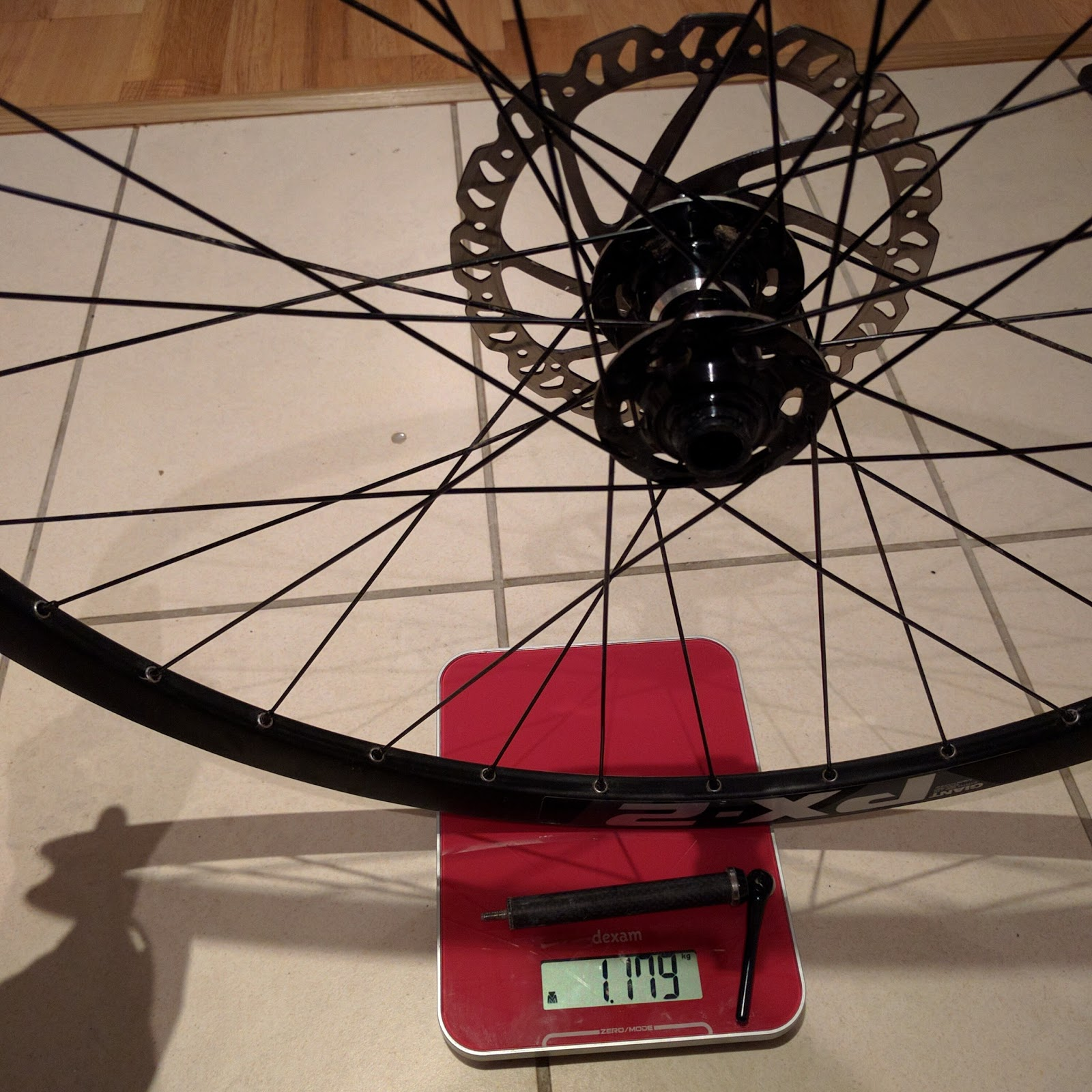 Giant PX-2 Wheelset Weight, Width and Depth | Luke GJ Potter Presents
