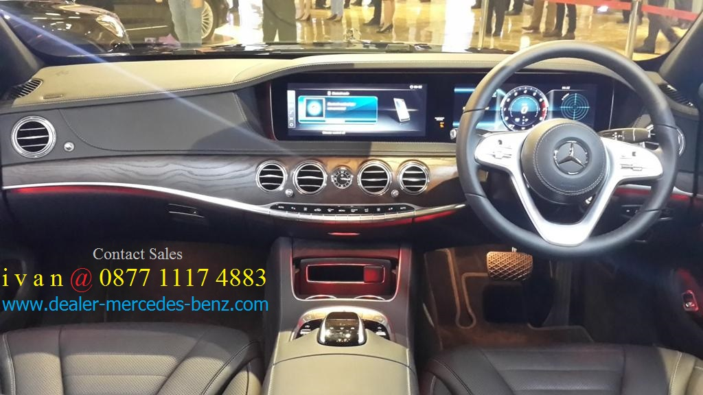 New s class s450 l fl facelift 2018 indonesia for Mercedes benz service b coupons