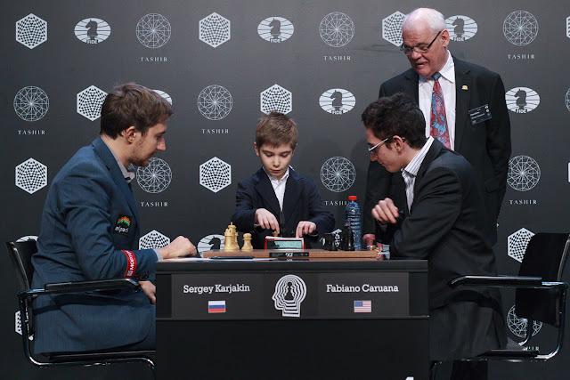 Karjakin y Caruana en la última ronda del Torneo de Candidatos
