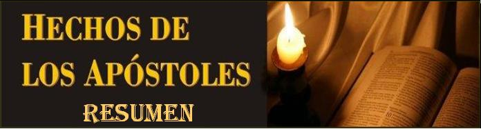 celula 411: Resumen del Libro Hechos de Los Apostoles